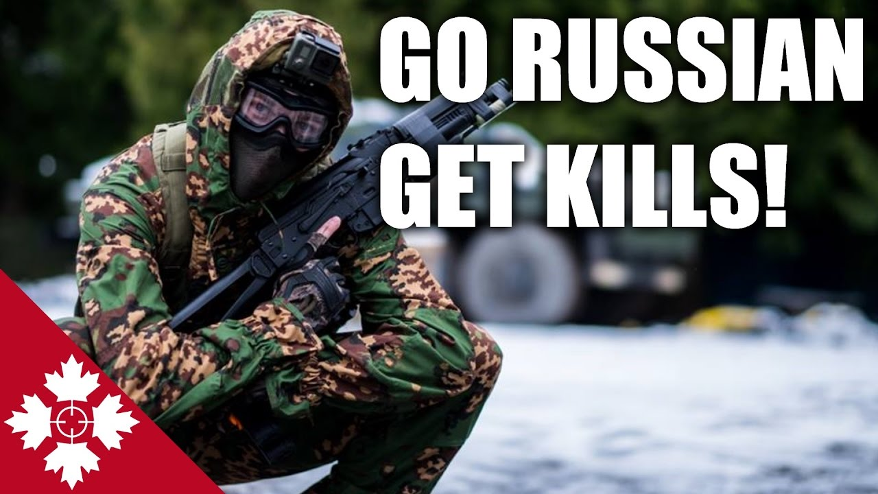 AIRSOFT RUSSE!