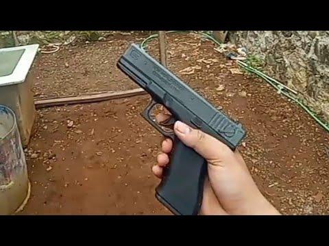 Airsoft Spring Glock Unit Test par XTR Jember Store