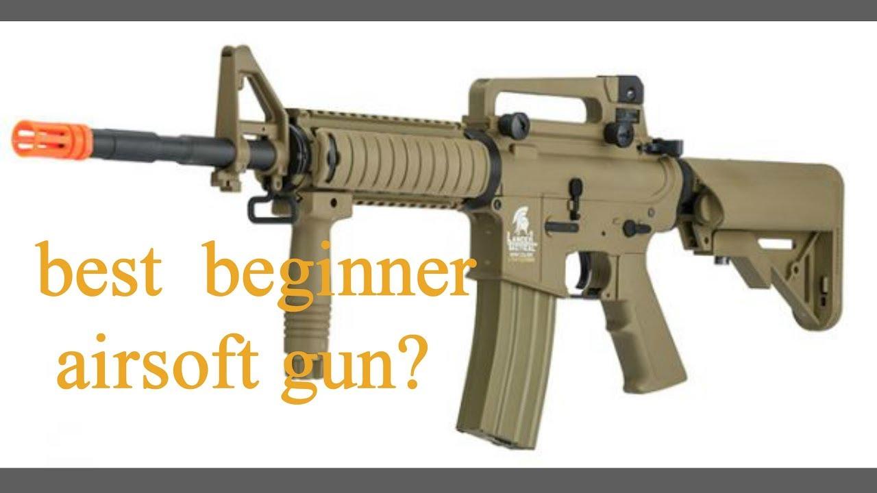 Meilleur pistolet airsoft débutant? Lancer Tactical lt-04 examen