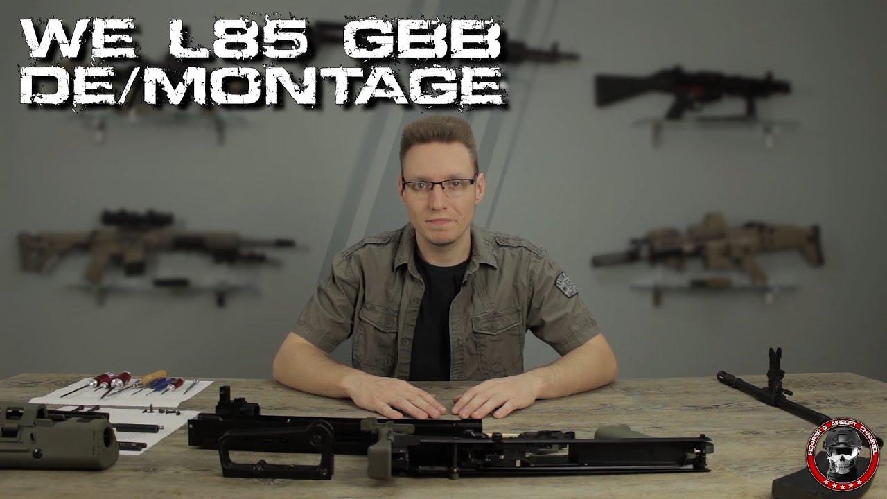 [Tech] WE L85 GBB démontage / montage / conversion 6mm BB Airsoft allemand