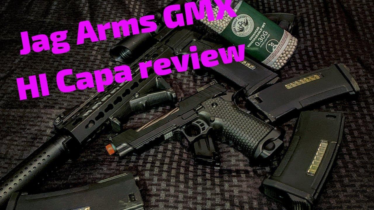 Meilleur pistolet de démarrage?! Critique de Jag Arms Hi Capa
