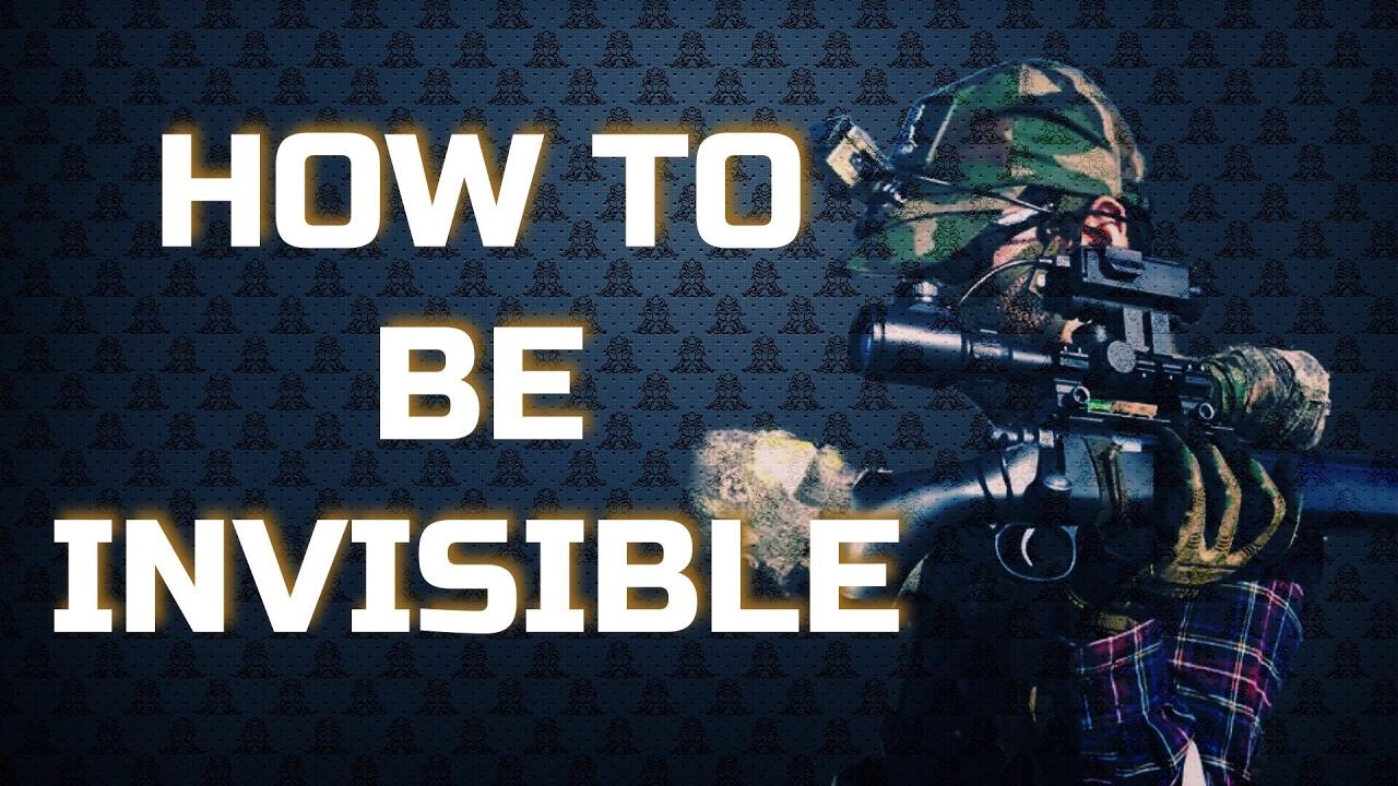 """Comment être """"invisible"""" sans Ghillie – Airsoft Sniper"""