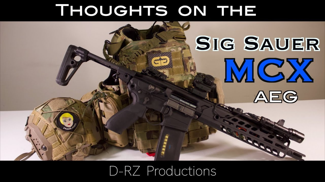 Réflexions sur le Sig Sauer MCX AEG