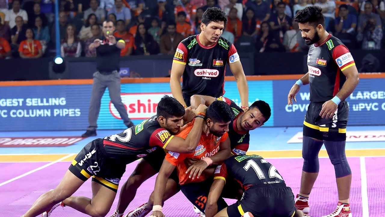 Faits saillants de Pro Kabaddi 2019 | U Mumba vs Bengaluru Bulls | Hindi M15