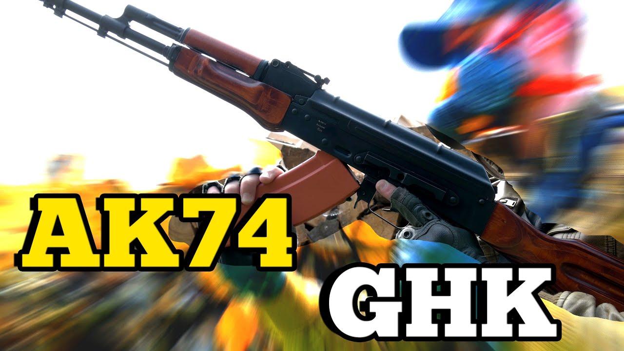 Test / Avis AIRSOFT AK74 GHK GBB – (DE / 4K)