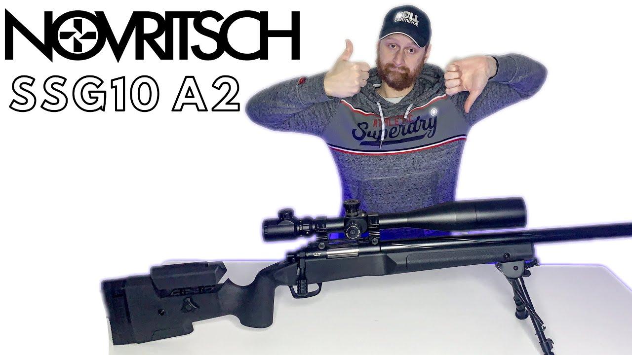NOVRITSCH SSG 10 Review – Le NOUVEAU Novritsch Sniper en vaut-il la peine?! 🤔