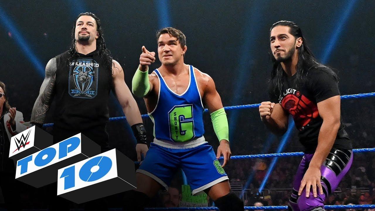 Top 10 des moments SmackDown du vendredi soir: Top 10 de la WWE, 25 octobre 2019