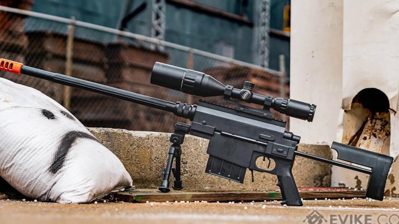 Nemesis Arms VANQUISH Bolt Action Airsoft Sniper Rifle Review (examen en 30 secondes)