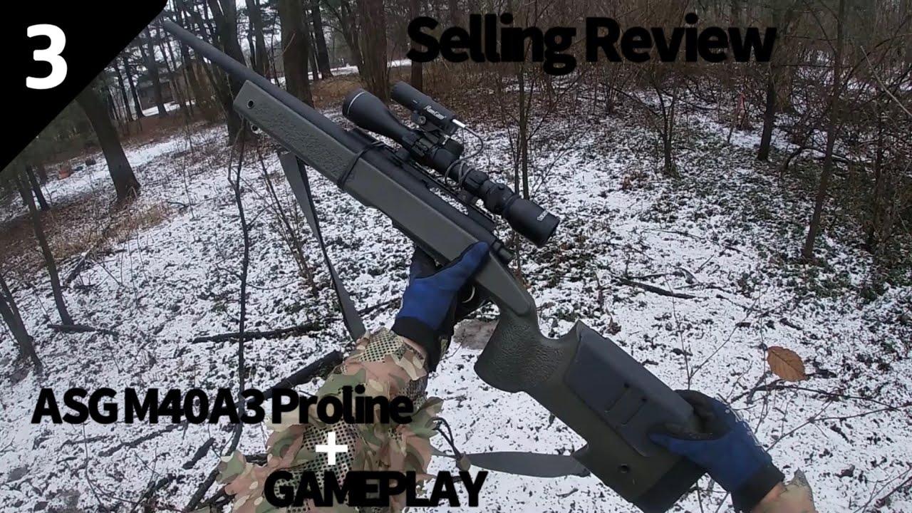 ASG M40A3 Proline Shooting 550 Fps   Revue de vente d'airsoft 3