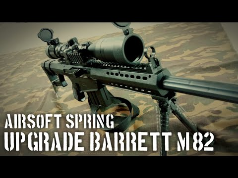 Upgrade BARRETT M82 dongying | printemps airsoft