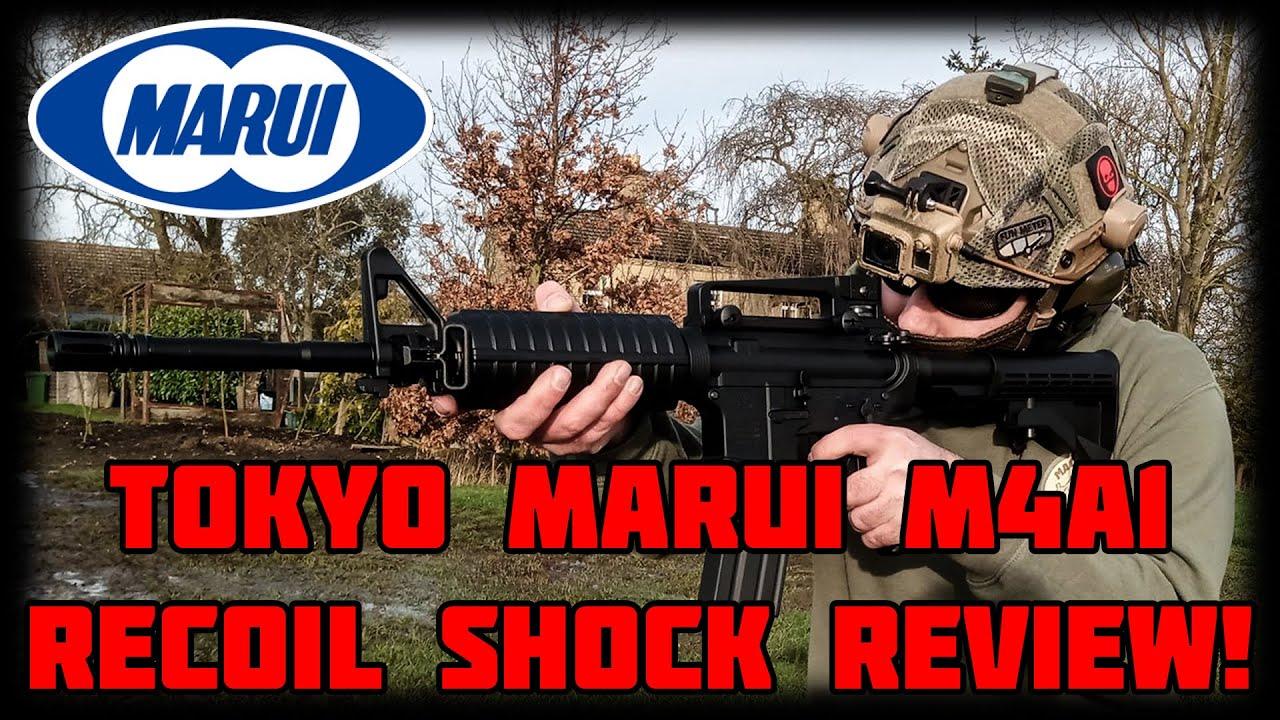 [Tokyo Marui M4A1 Recoil Shock] La revue! Le meilleur sur le marché?