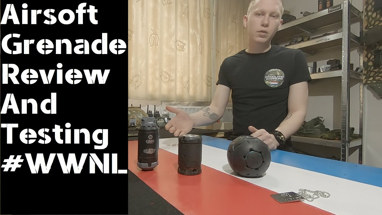 Examen et test d'Airsoft Grenades