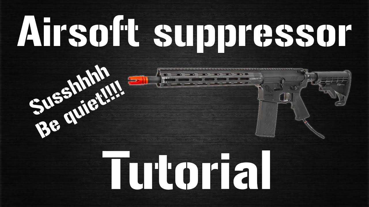 Comment rendre votre pistolet airsoft extrêmement silencieux!