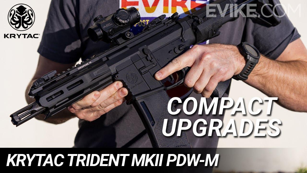 Mises à niveau compactes – Krytac Trident MKII PDW-M – Critique