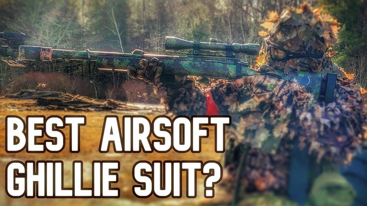 KMCS Ghillie Suit AIRSOFT REVIEW (MEILLEUR COMBINAISON GHILLIE?)