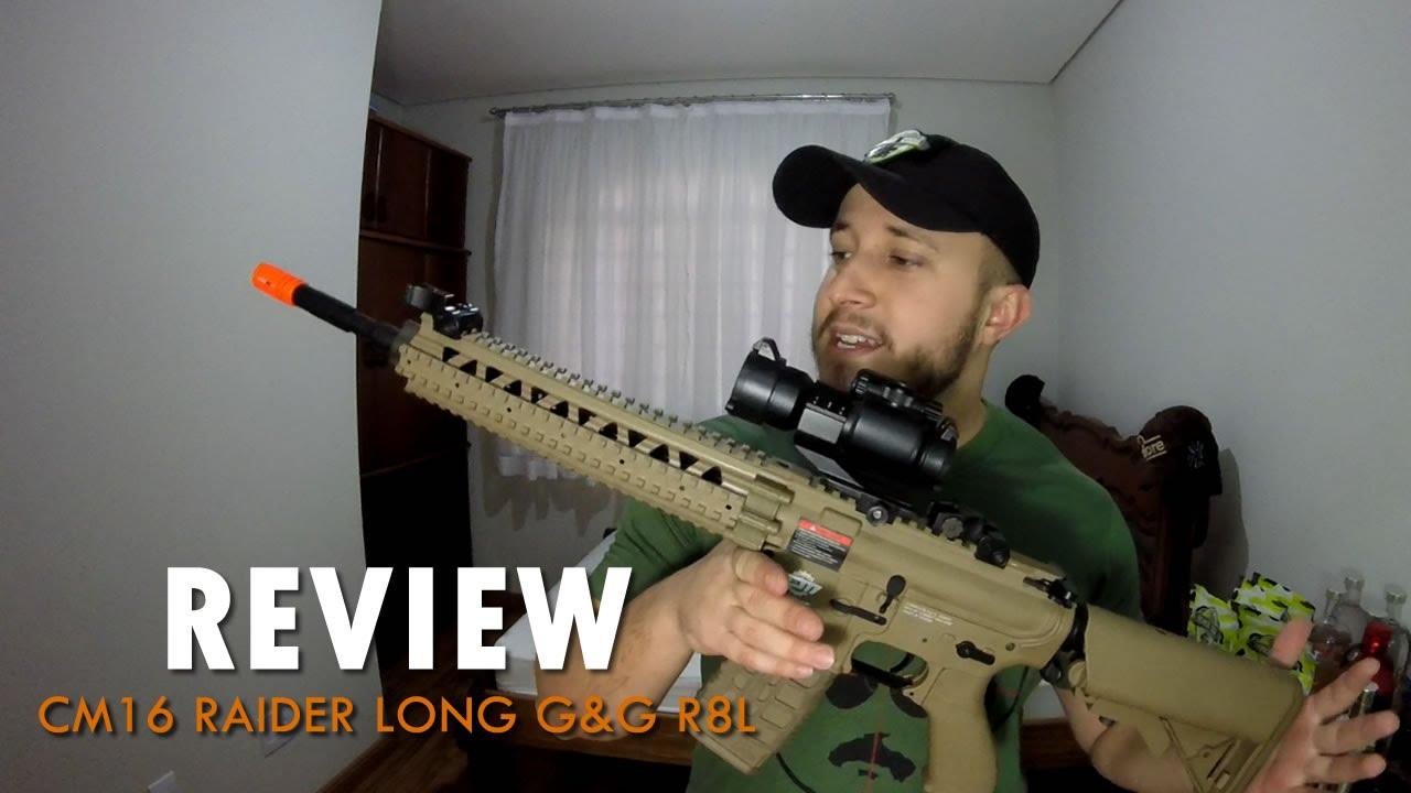 REVUE – CM16 Raider Long | Airsoft G&G R8-L AEG (EN)