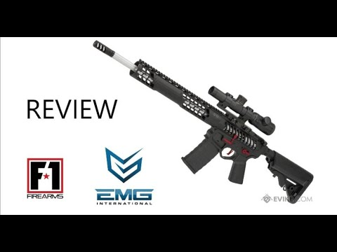 Examen des armes à feu F1 Airsoft