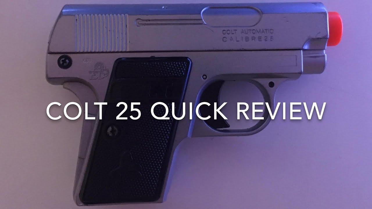 Colt 1908 Pocket Pocket (Colt 25) Quick Airsoft Review