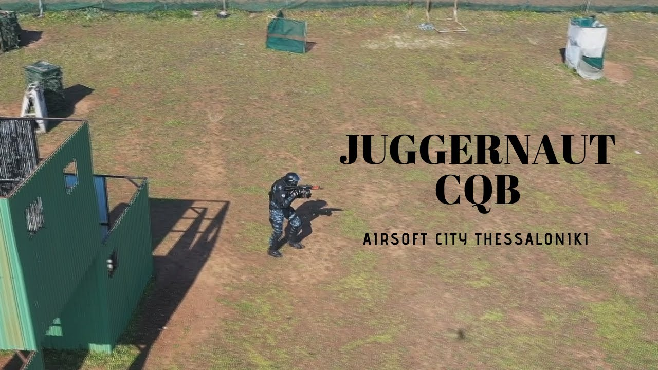 Juggernaut Airsoft War Games – Airsoft City Theesaloniki Grèce