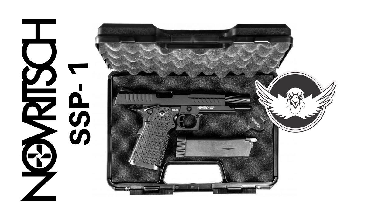 Pistolet Airsoft Novritsch SSP1 | Le meilleur fusil que j'ai jamais possédé