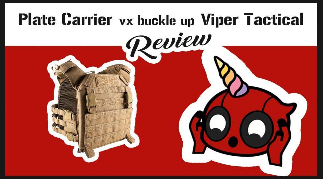 Porte-plaques VX Buckle Up Viper TACTICAL