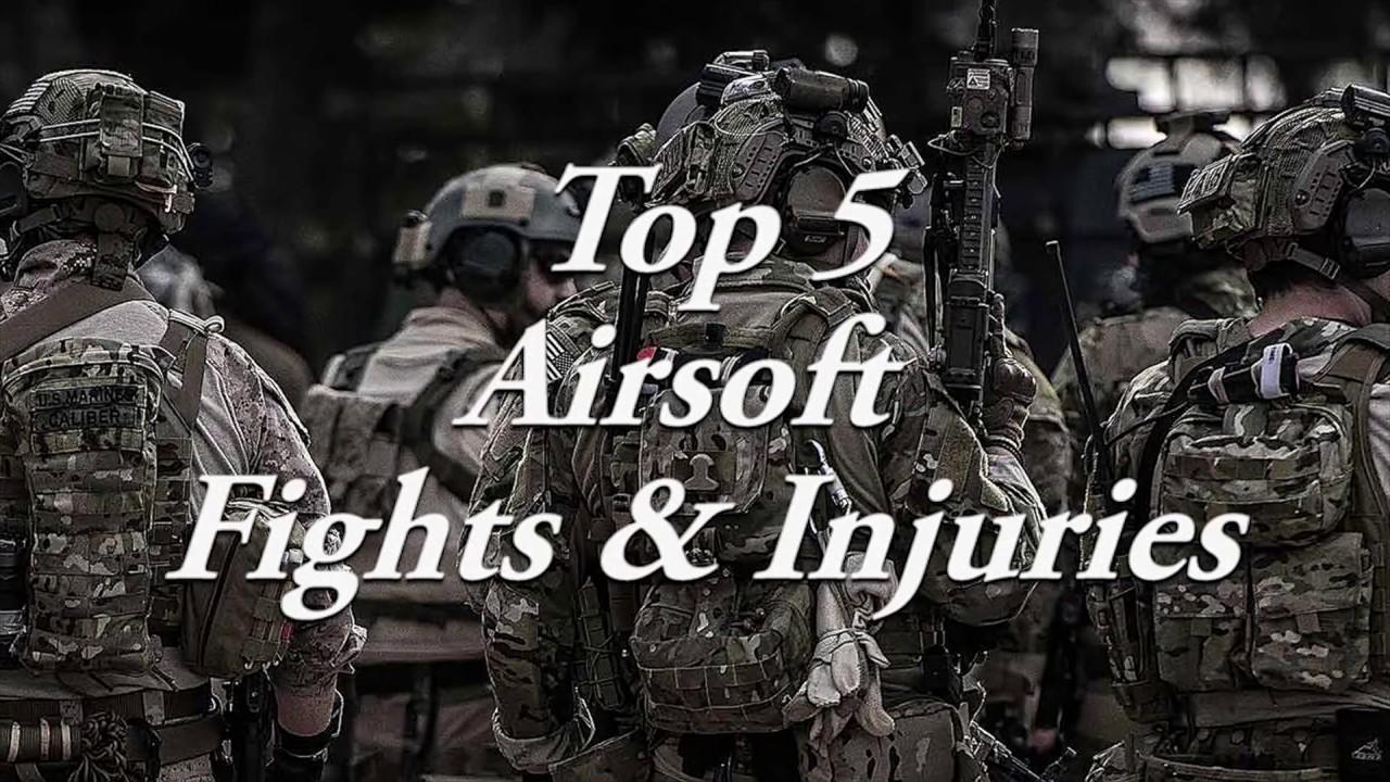 Top 5 des combats et blessures d'Airsoft BRUTAL (avertissement extrêmement graphique)