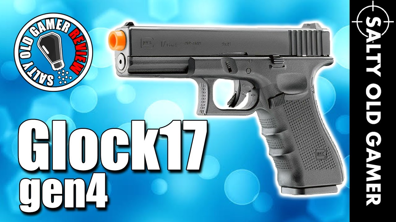 Elite Force Glock 17 Gen 4 GBB Airsoft Unboxing & Review | SaltyOldGamer Airsoft Review