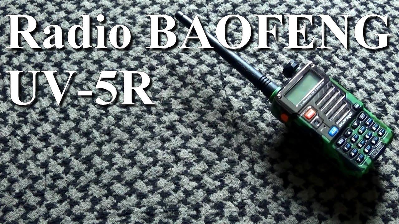 Radio Baofeng UV-5R. Review Fr. Airsoft. (n°239)