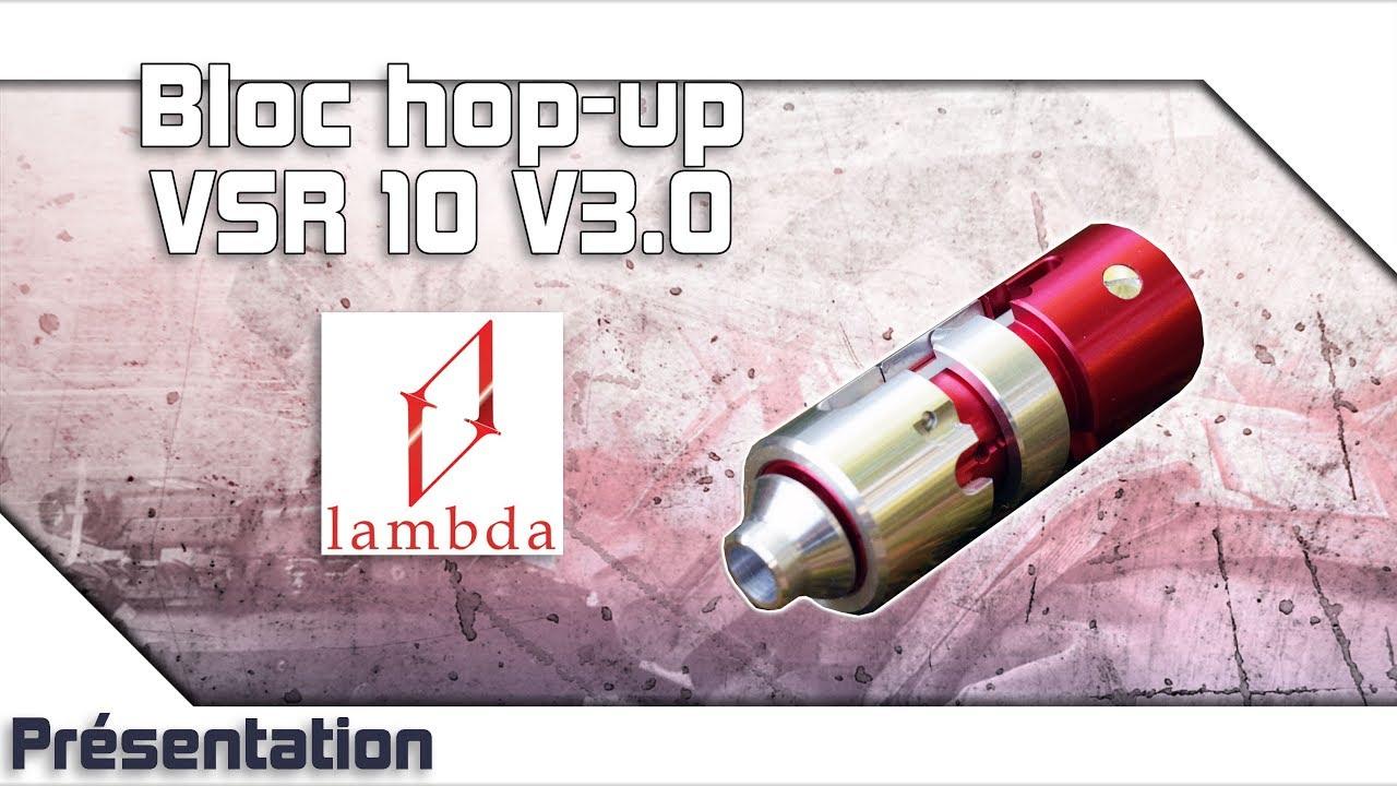 [Bloc hop-up VSR10 V3.0 – Lambda] Présentation | Review | Airsoft FR – EN subs