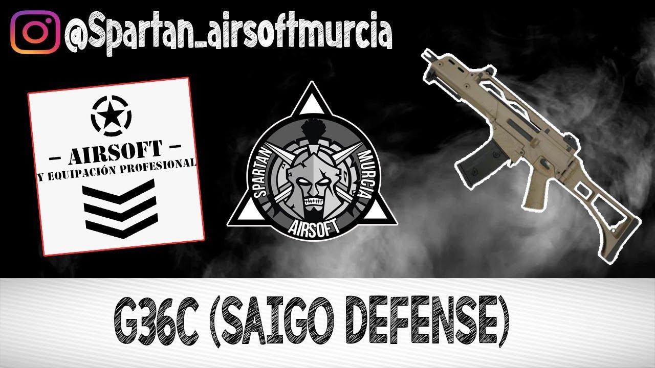 G36C SAIGO DEFNESE | Revue | AIRSOFT