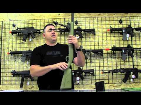 Airsoft Sniper Rifle Review APS M40 – OAT TV