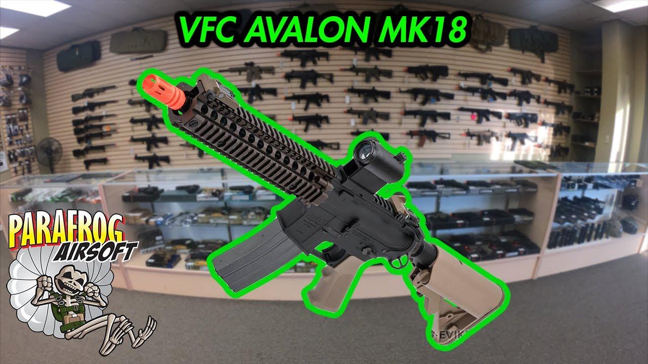Examen et test de prise de vue du VFC Avalon MK18