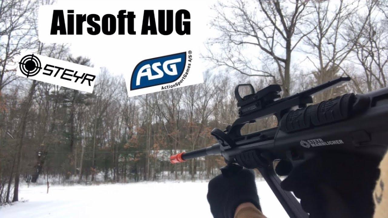 Airsoft AUG – ASG Steyr A2 – Déballage