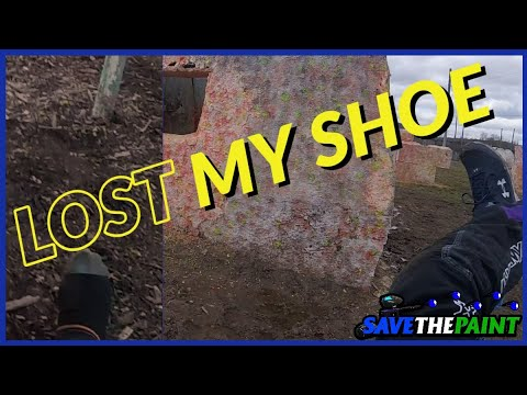 Lost My Shoe // Angles de l'appareil photo Paintball // Pevs Paintball