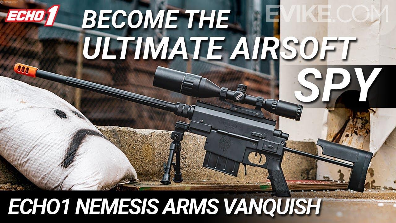 Devenez l'ultime espion d'Airsoft – Fusil de sniper Echo1 Nemesis Arms VANQUISH – Critique