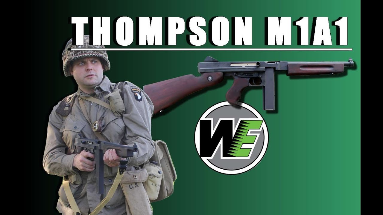 Thompson M1A1 GBBR WE – REVIEW AIRSOFT