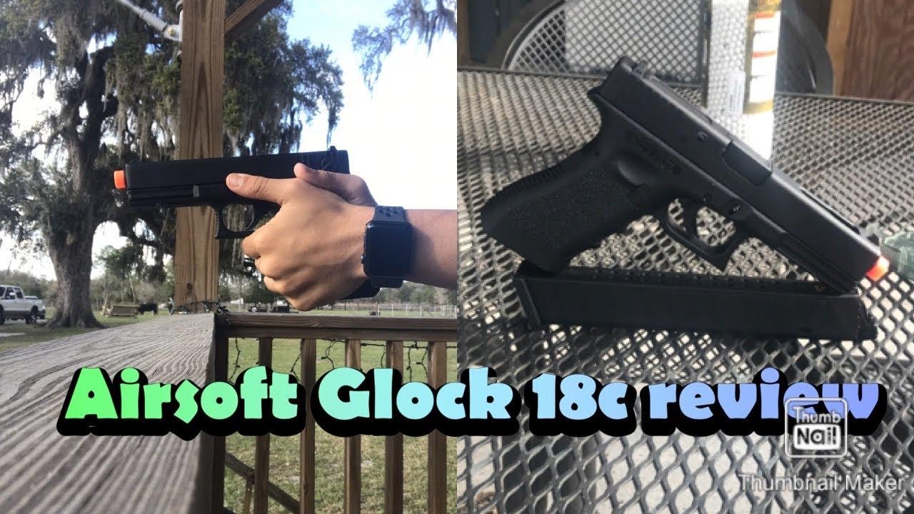 Airsoft Glock 18c avis