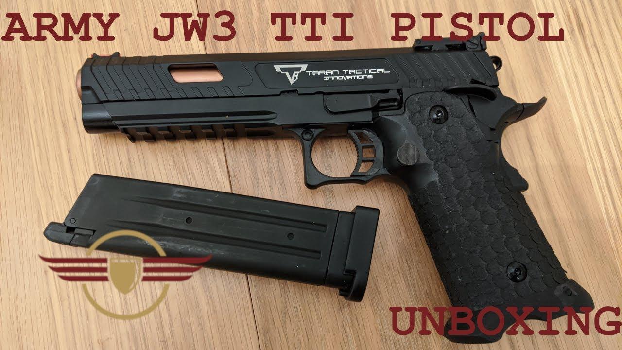 [UNBOXING] R601 JW3 TTI COMBAT MASTER – Impressionnant déballage de pistolet