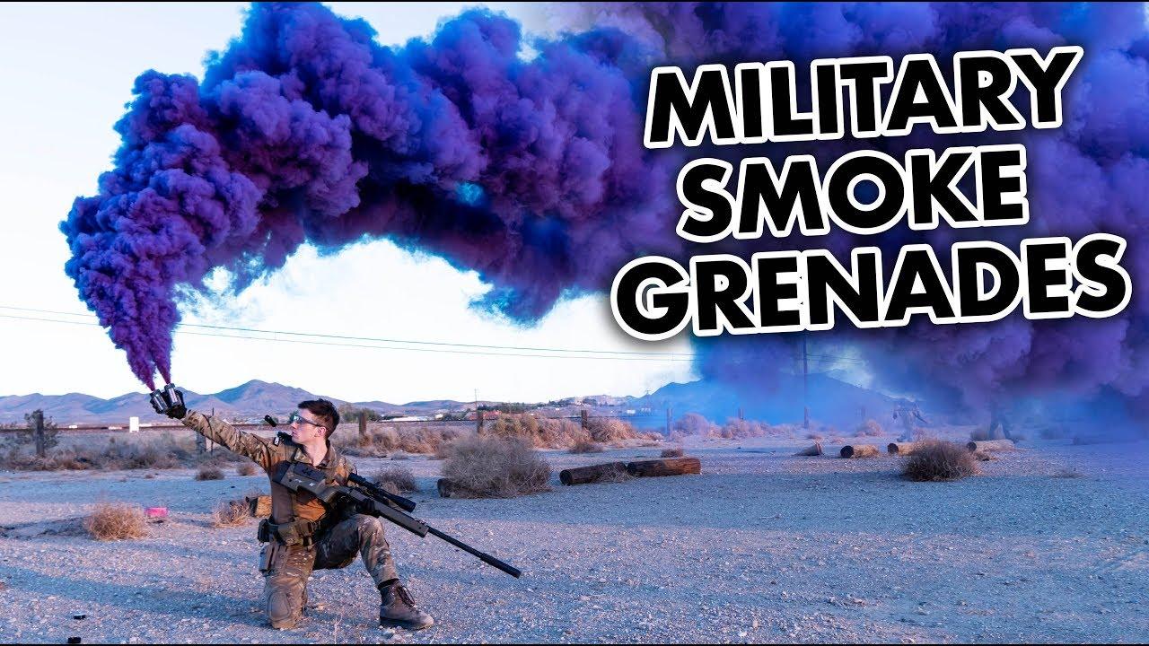 Test des grenades fumigènes et des flashbangs Airsoft