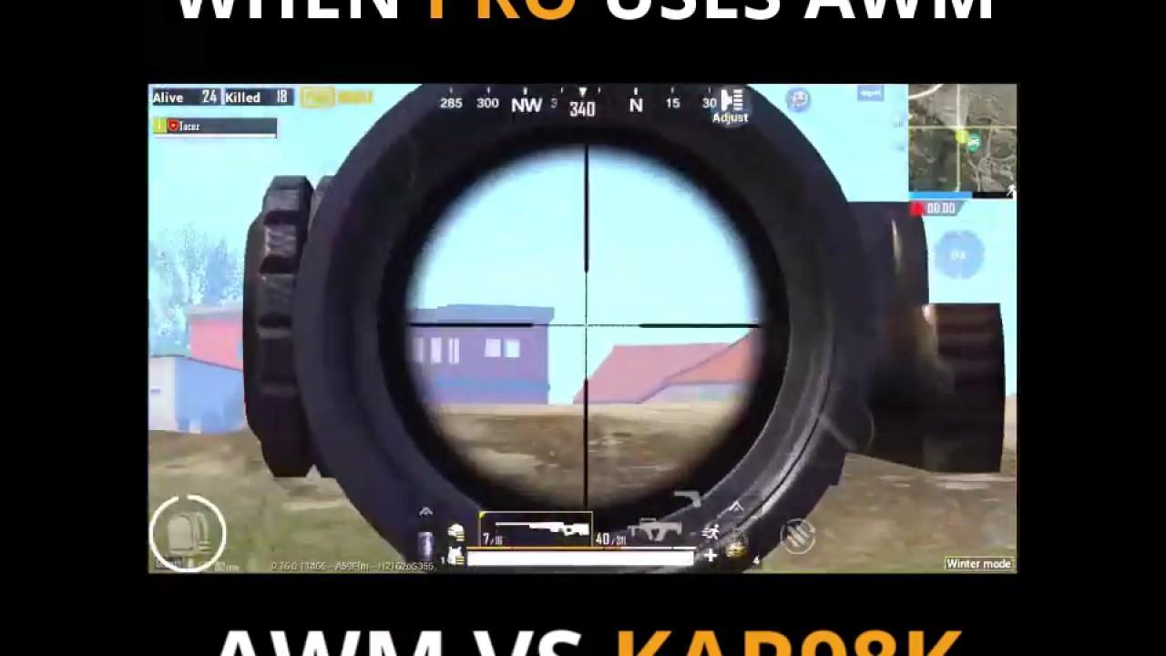AWM VS KAR98K! _PRO SENTIR COMME HaCKER à NOObs_Credit _ Tacaz