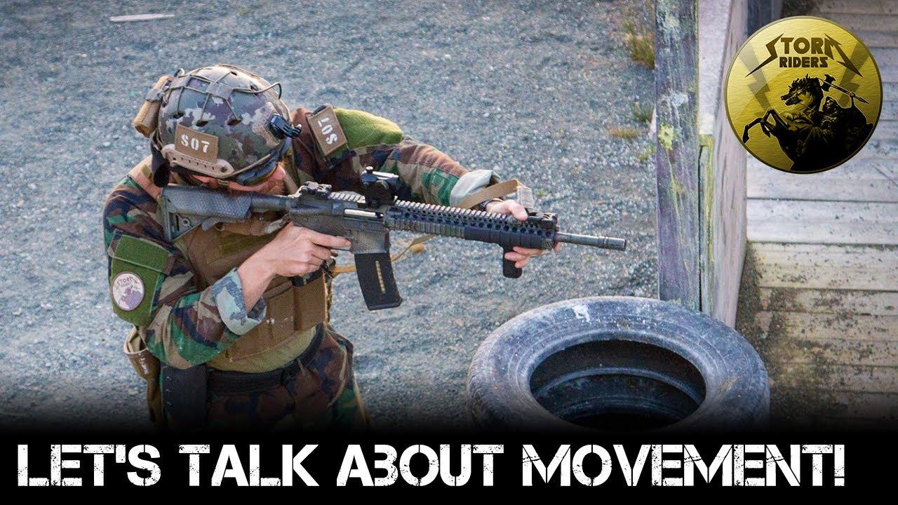 Parlons du mouvement en airsoft!