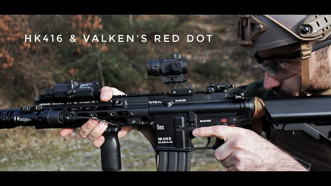 Airsoft HK416 – RED DOT RDA20 VALKEN – Un bon point rouge pour jouer à l'airsoft? – REVUE ITA SUB ENG