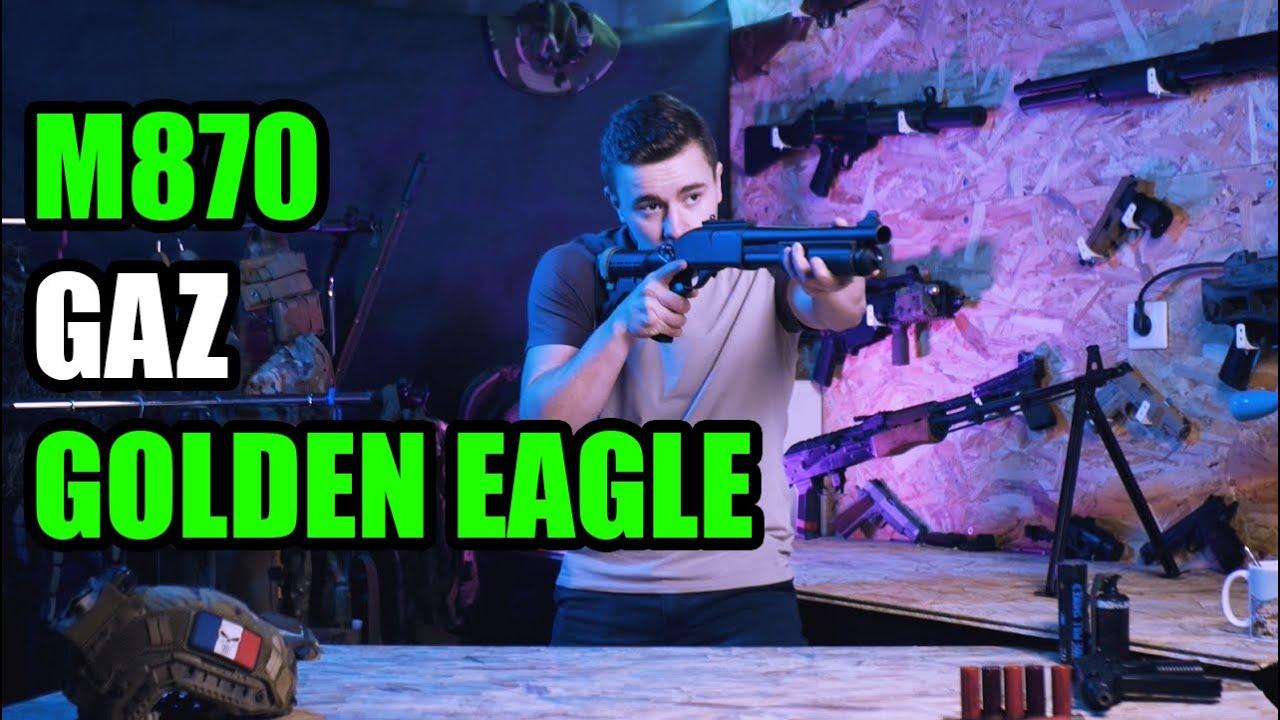Fusil à pompe m870 Golden Eagle / Review / FR / Music (Anabolic Beatz)