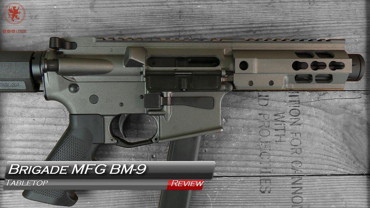Revue de table et bandelette de terrain Brigade BM-9