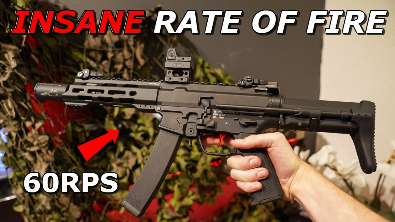 Gameplay Airsoft CRAZY FULL AUTO! ULTIMATE DSG QRF MOD 1 Build * ACTION CQB! *