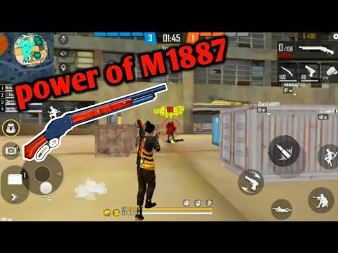 m1887 shotgun free fire | m1887 shotgun challenge | par aesetoo gaming