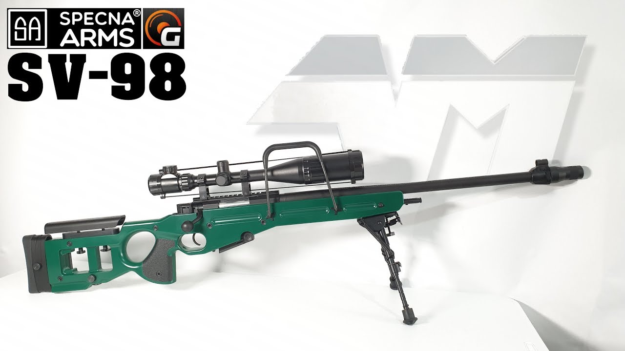 SPECNA ARMS SV-98 CORE ™ / SV98 / Airsoft Unboxing