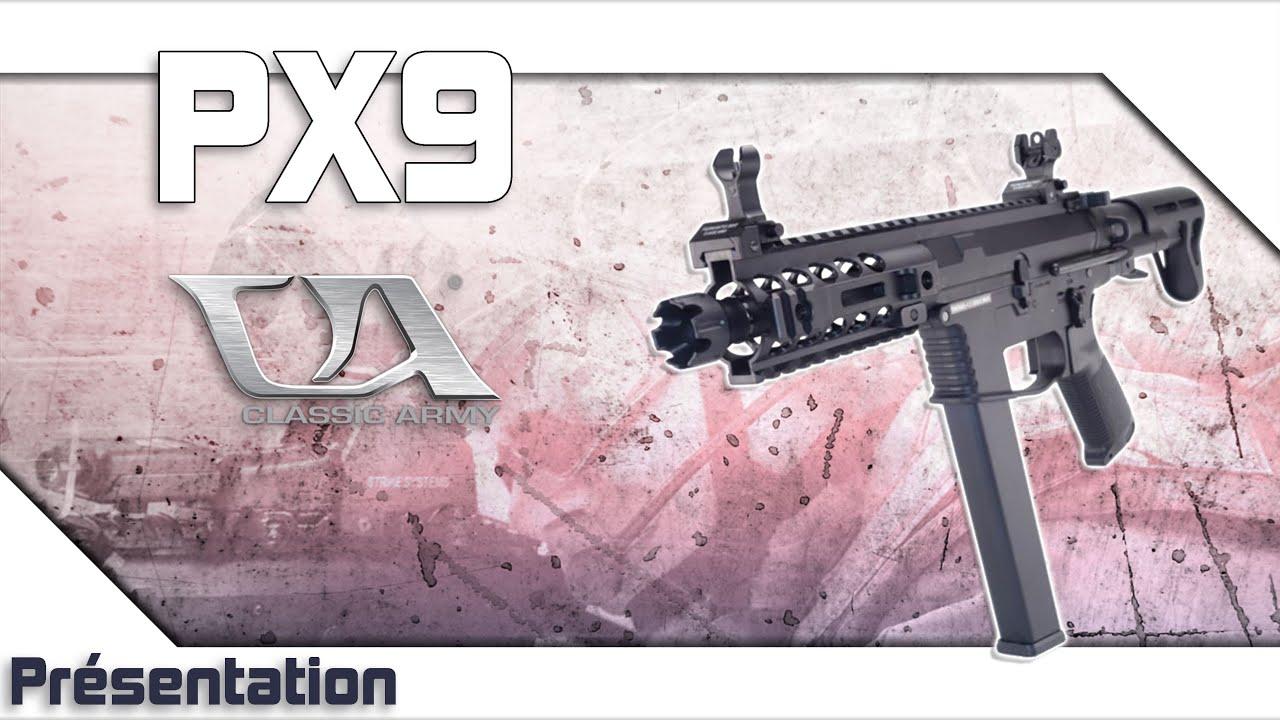 [PX9 – Classic Army] Présentation | Review | Airsoft FR – EN subs