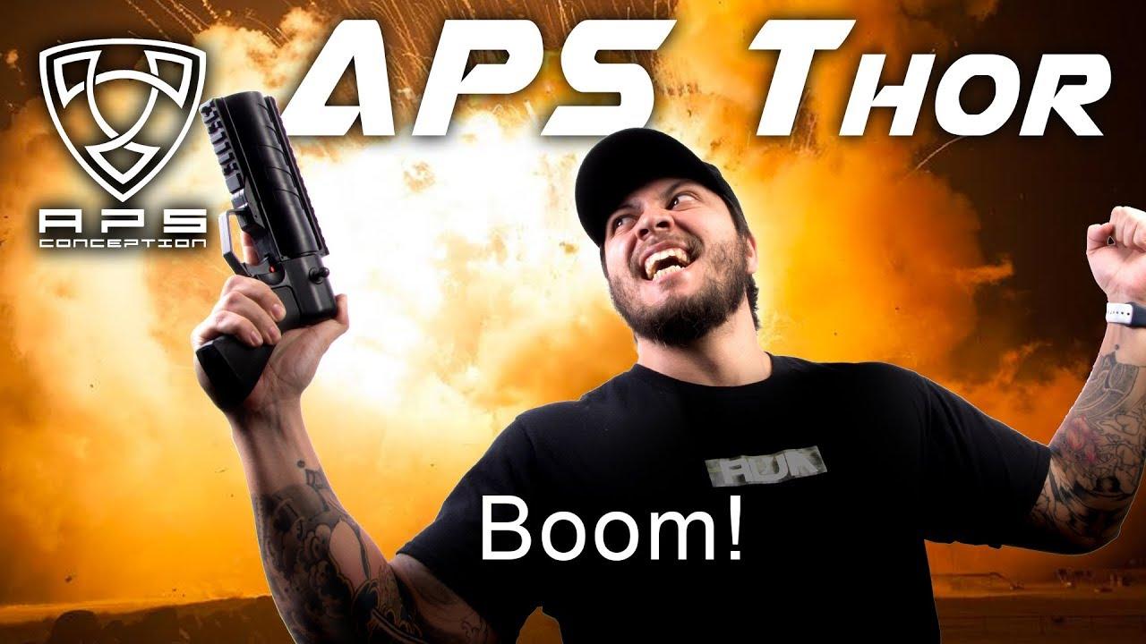 APS Thor – Ce lanceur rendra vos grenades meilleures! – RedWolf Airsoft RWTV