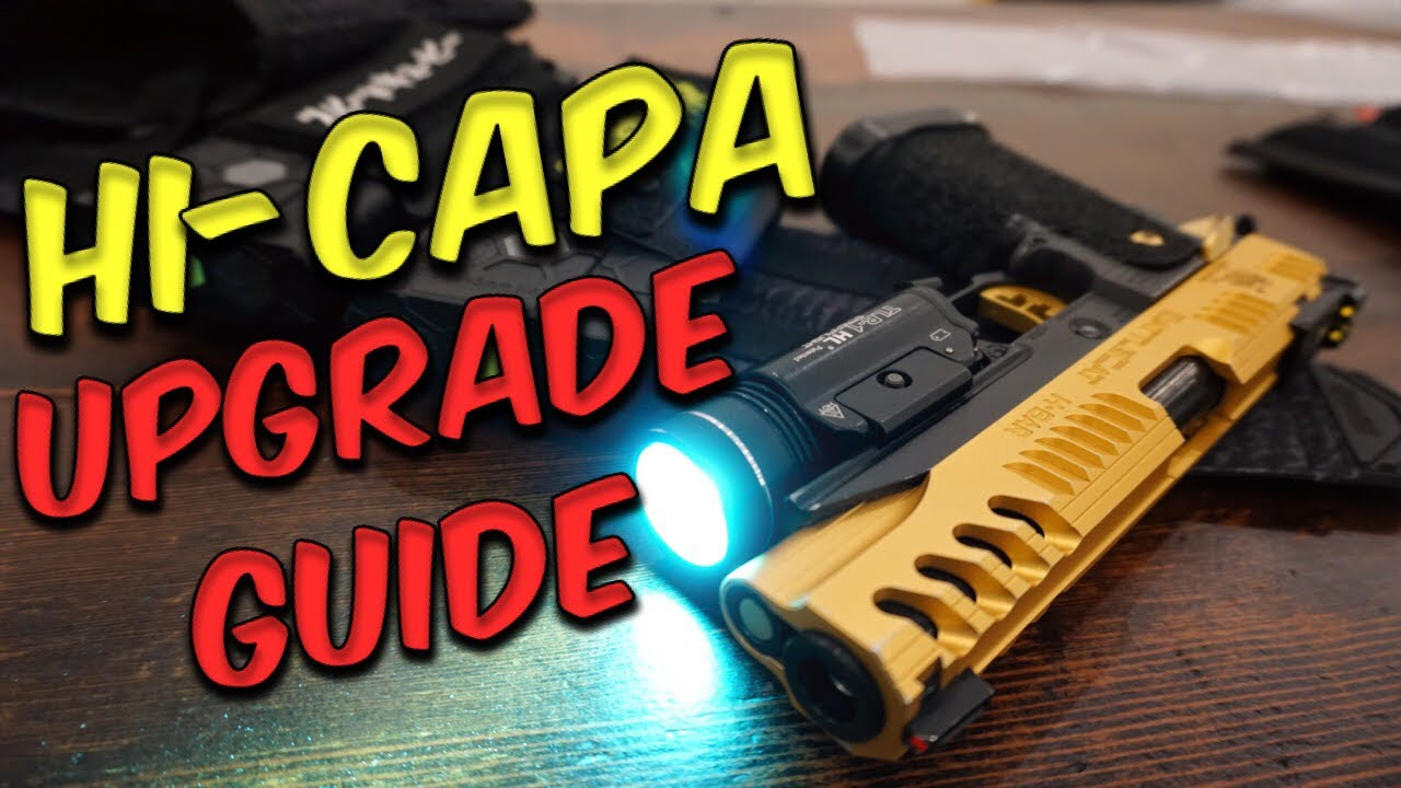 Lets Talk Airsoft – Hi-Capa Basics / Guide de mise à niveau (The Airsoft Life # 35)